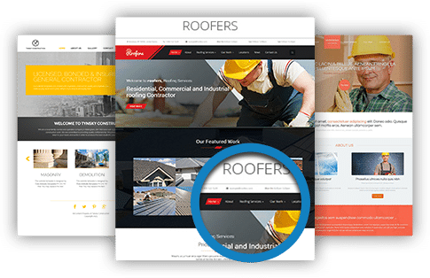 roofers and contractors websites gallery
