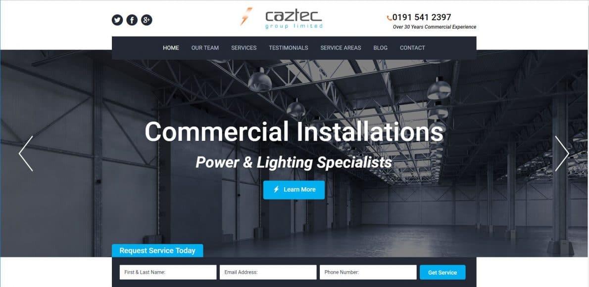 Best Electrical Websites | Optimised Websites For Electricians | HTM